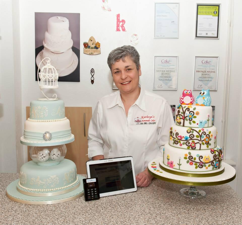 Kathryns Homemade Cakes | Award Winning Wedding & Celebration Cakes
